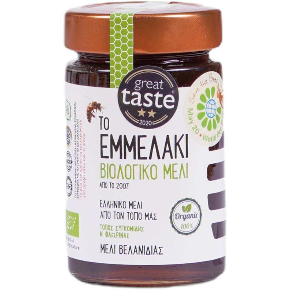 To Emmelaki Organic Oak Honey