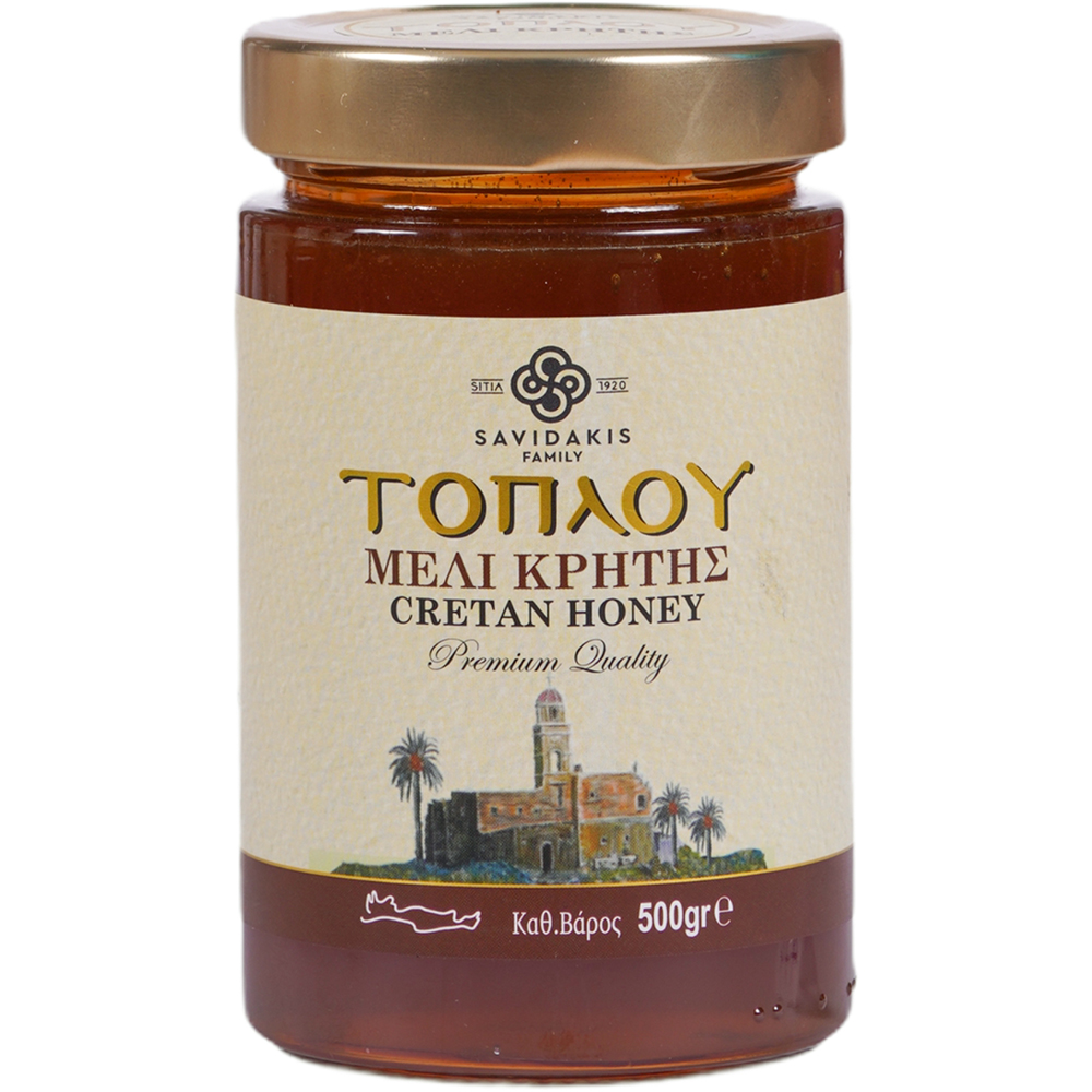 Toplou Thyme pine and herbs Honey