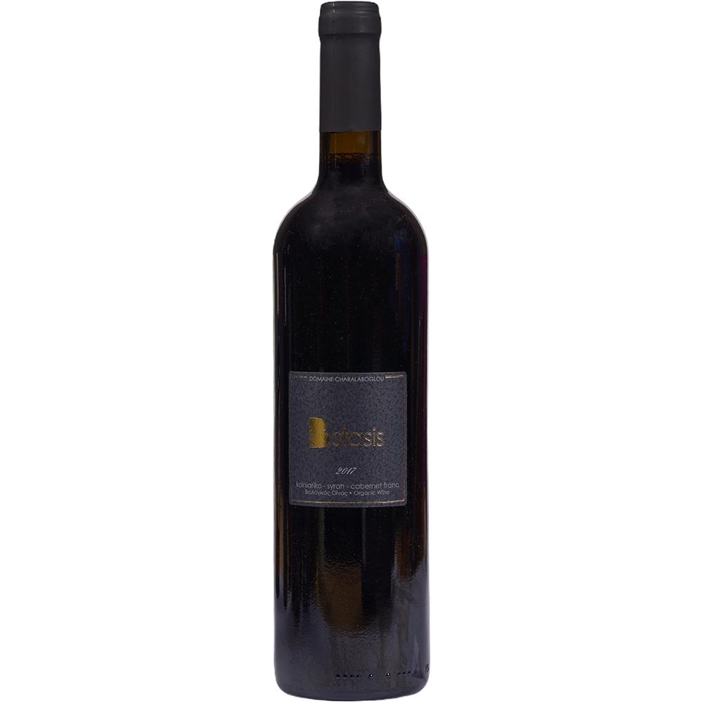 Bstasis 2017 Koiniariko Syrah Cabernet franc Wine