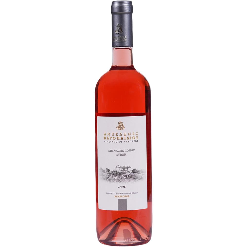 Grenache Rouge Syrah 2020 Organic Rose Dry Wine