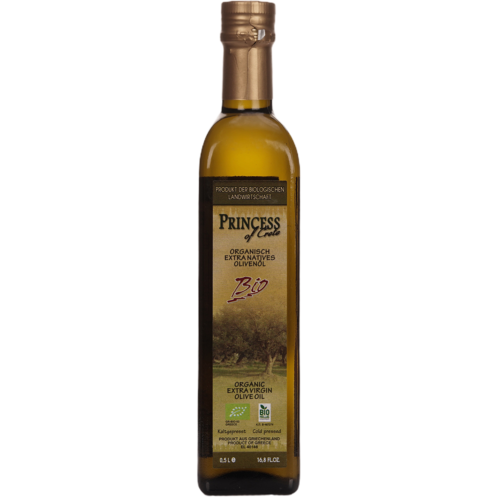 Princess of Crete Organic Extra Virgin Olive Oil