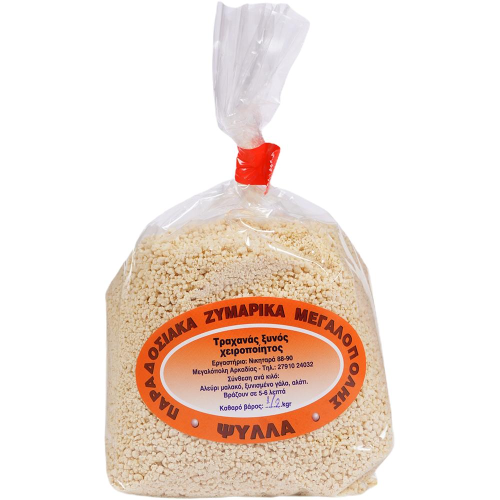 Τraditional Megalopolis Pasta Lazania (Τrachanas xinos)