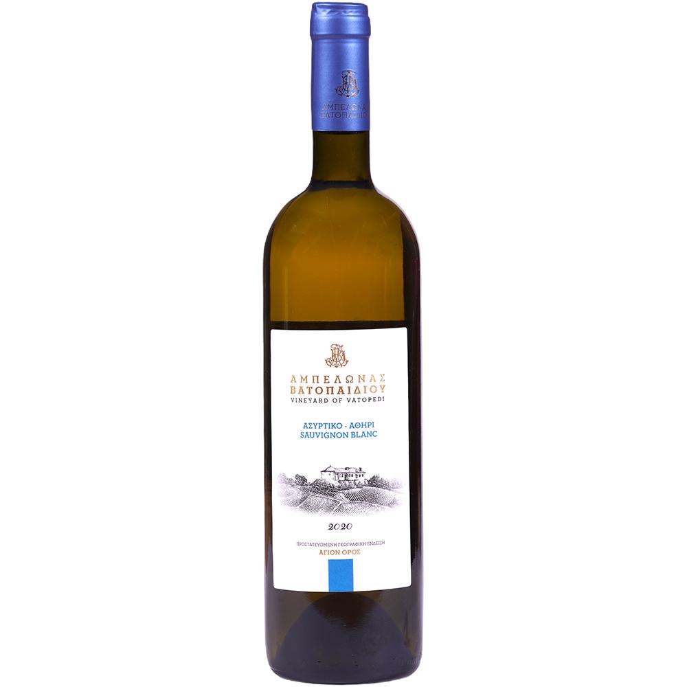 Asyrtiko Athiri Sauvignon Blanc 2020 Organic White Dry Wine