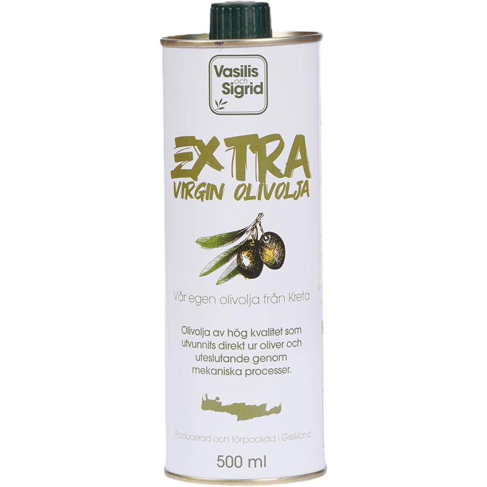 Vasilis Och Sigrid Extra Virgin Olive Oil