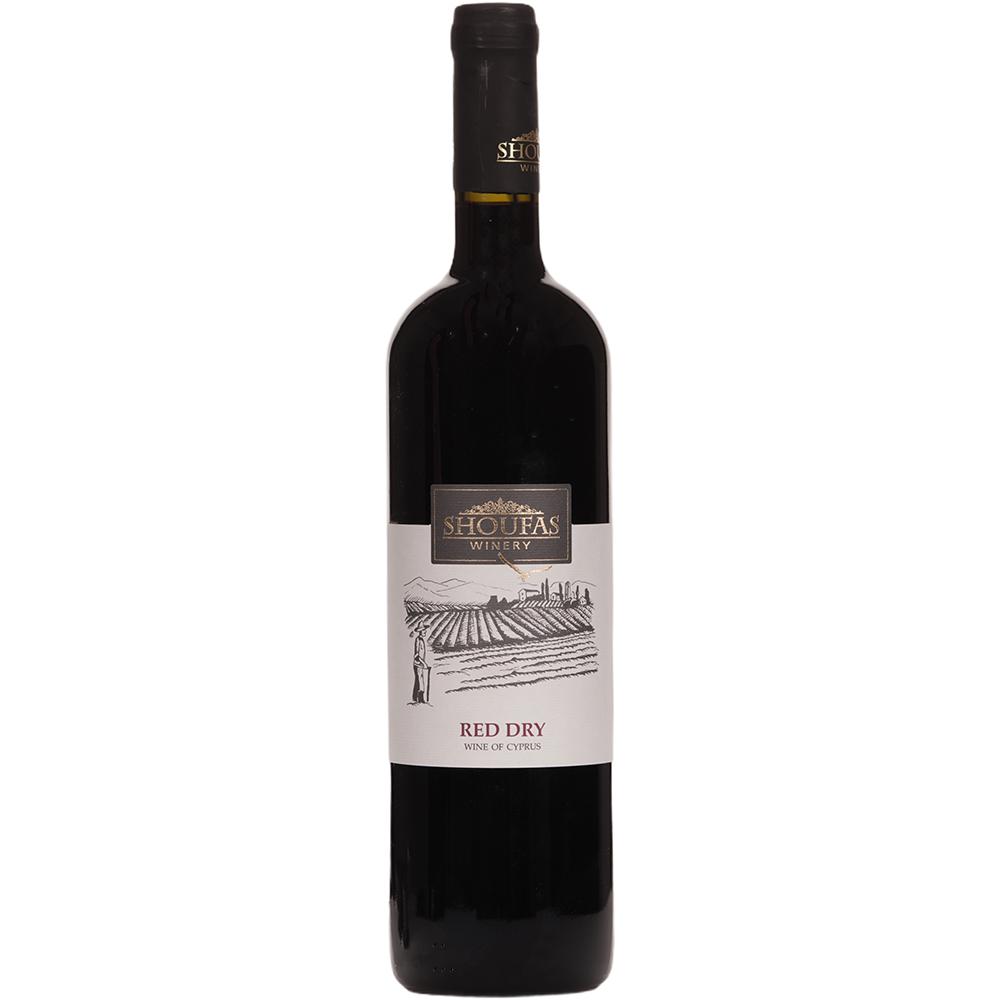 Red Dry Wine- Paphos local wine
