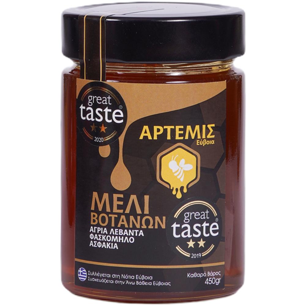 Artemis Herbal Honey with wild lavender sage & asfakia