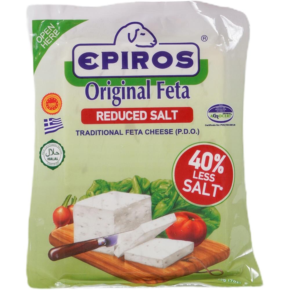Epiros Original Feta with reduced salt