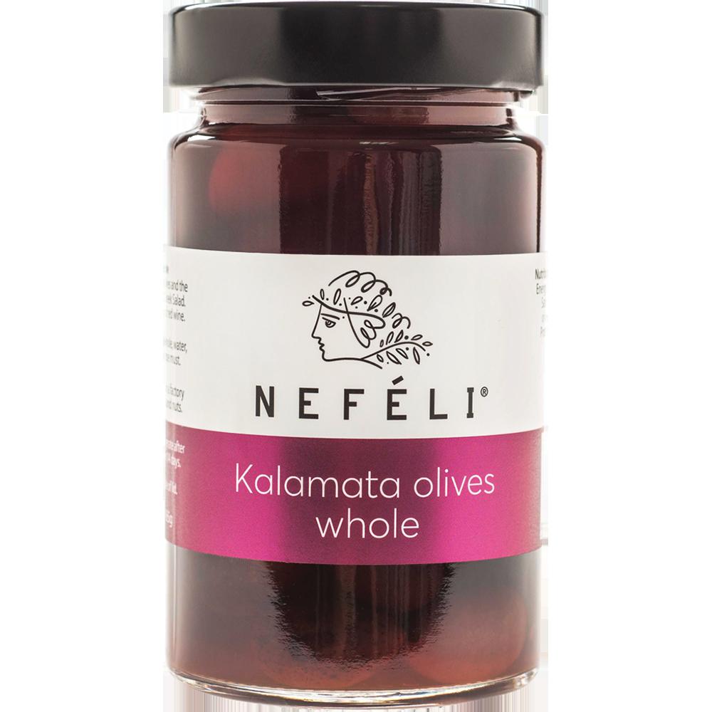 Nefeli Kalamata Olives Whole