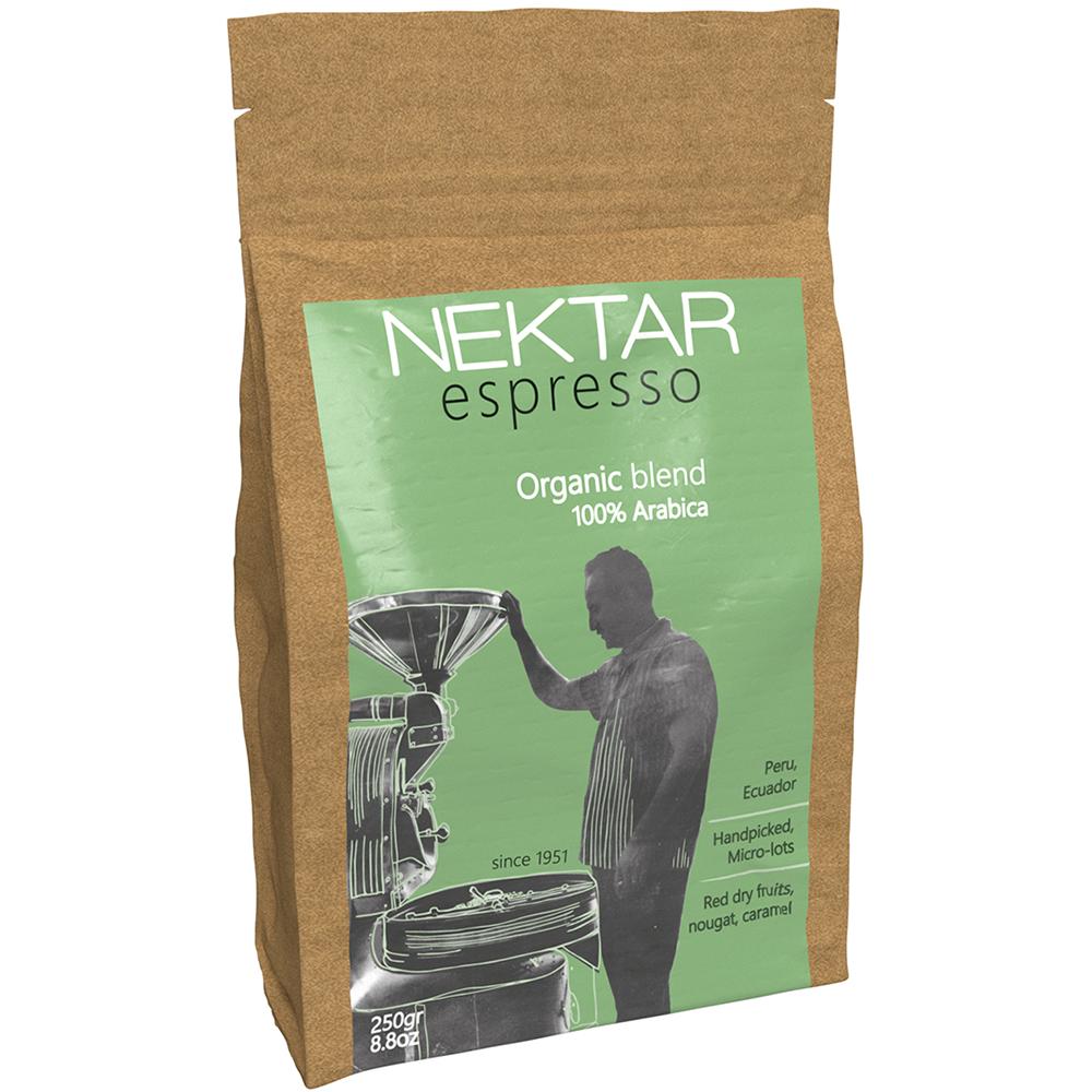 Espresso Coffee Organic Blend 100% Arabica